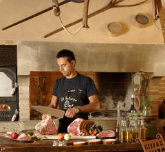 The flavours and smells of Umbrian and Tuscan cooking