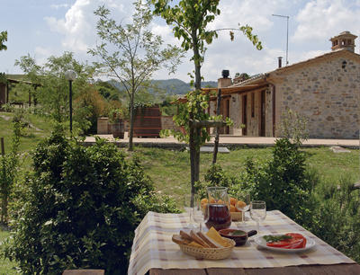 The pleasures of the Umbrian countryside